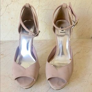 ANY OFFER- Blush pink Platform Sandals